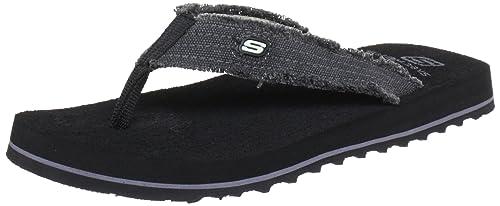 Skechers Tantric Fray in Black Skechers Mens Sandals on