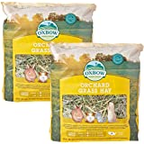 Oxbow Animal Health Orchard Grass Hay for Pets, 40-Ounce (2 Pack)