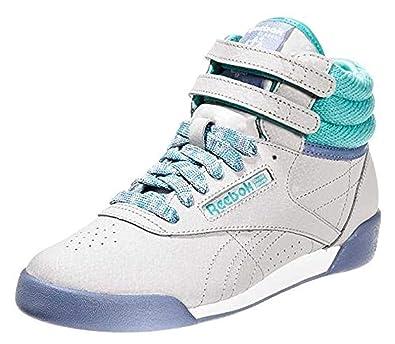 Reebok Jungen FS Hi Cozy Craze Sneaker Grau, 27: