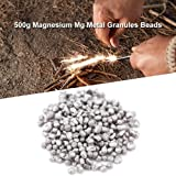 500g Magnesium Granules, Small Magnesium metal Bead for Alloy Manufacture Manufacture for Various Magnesium Aalts and Refractory Materials