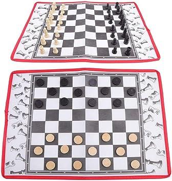 Suchinm Juego de Mesa, Divertidos Juegos de borradores de ajedrez ...