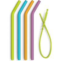 Softy Straws Reusable Silicone Straws