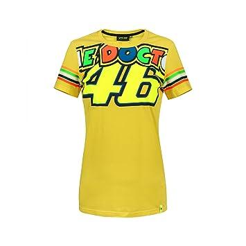 Valentino Rossi Vr46 Moto Gp The Doctor Streifen Damen T Shirt