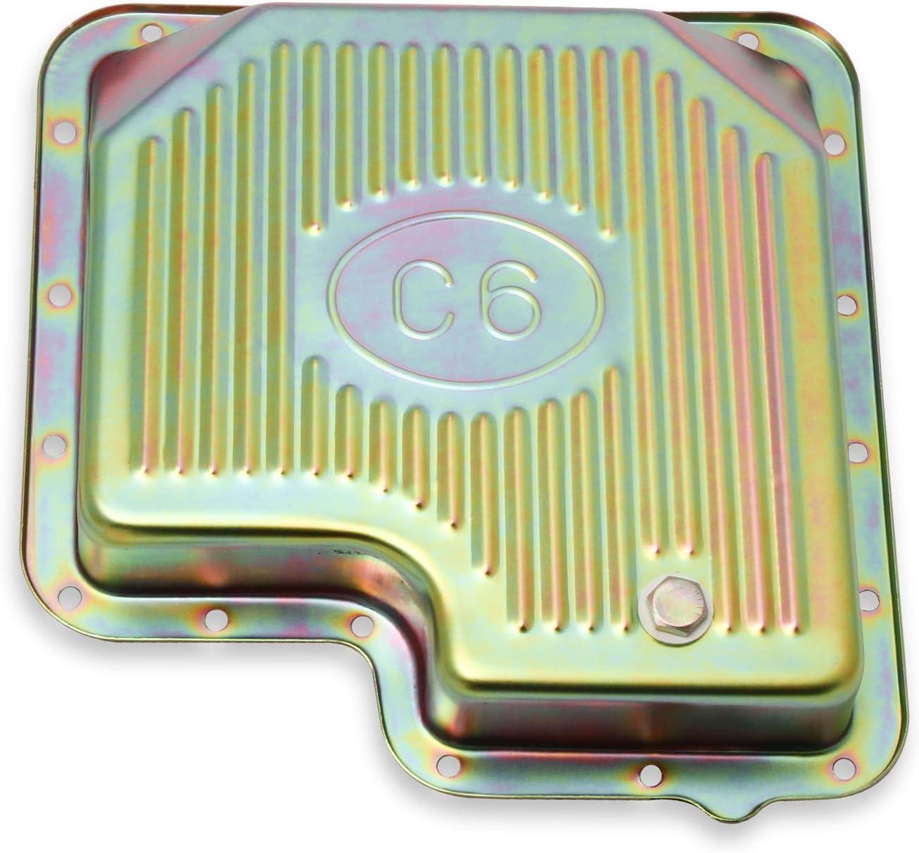 MR GASKET 9756ZMRG Zinc Automatic Transmission Oil Pan Ford C6