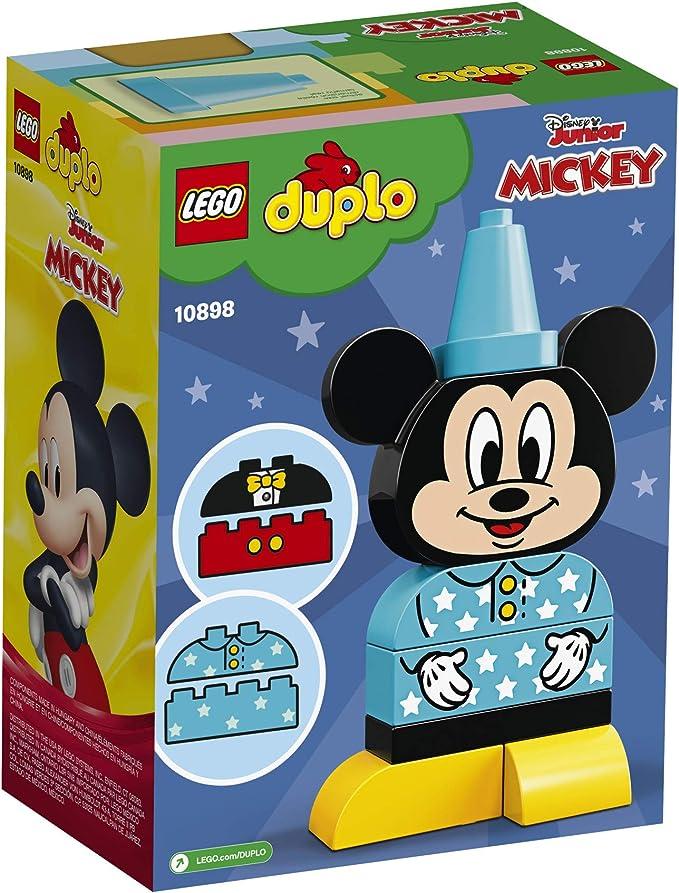 LEGO DUPLO Disney Juniors My First Mickey Build 10898 Building Bricks 9 Pieces
