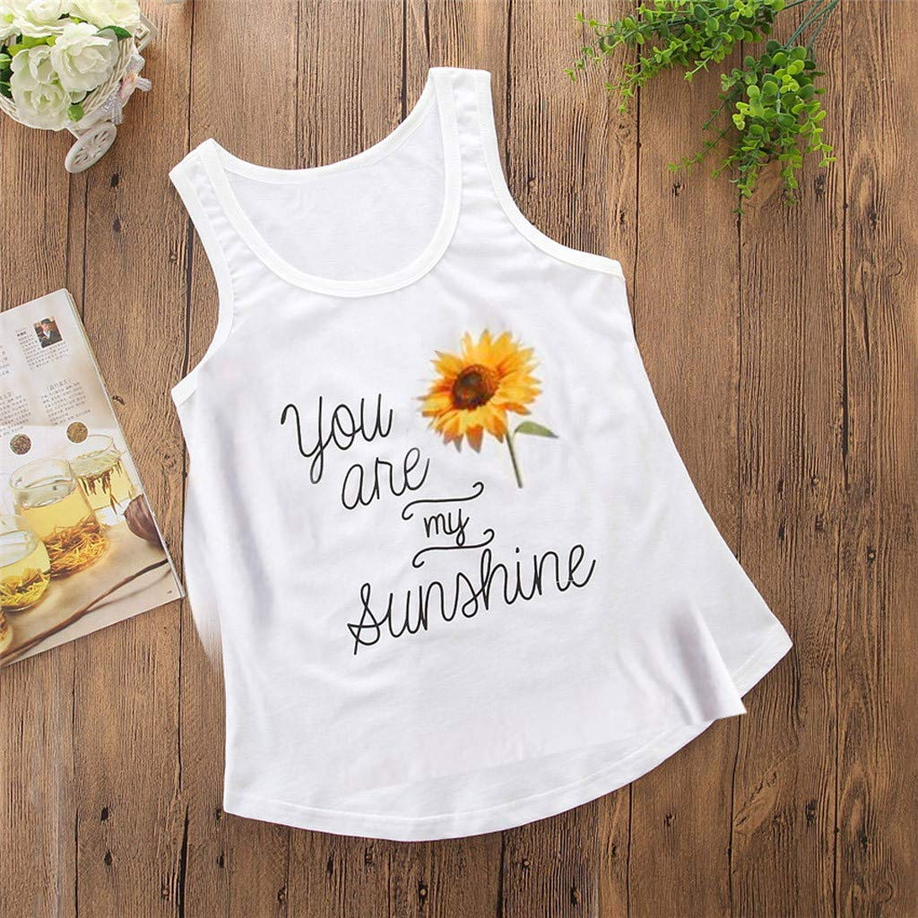BUKINIE Mother and Daughter Son Matching Vest and T-Shirt Vest Women Kids New Born Baby Gift Set