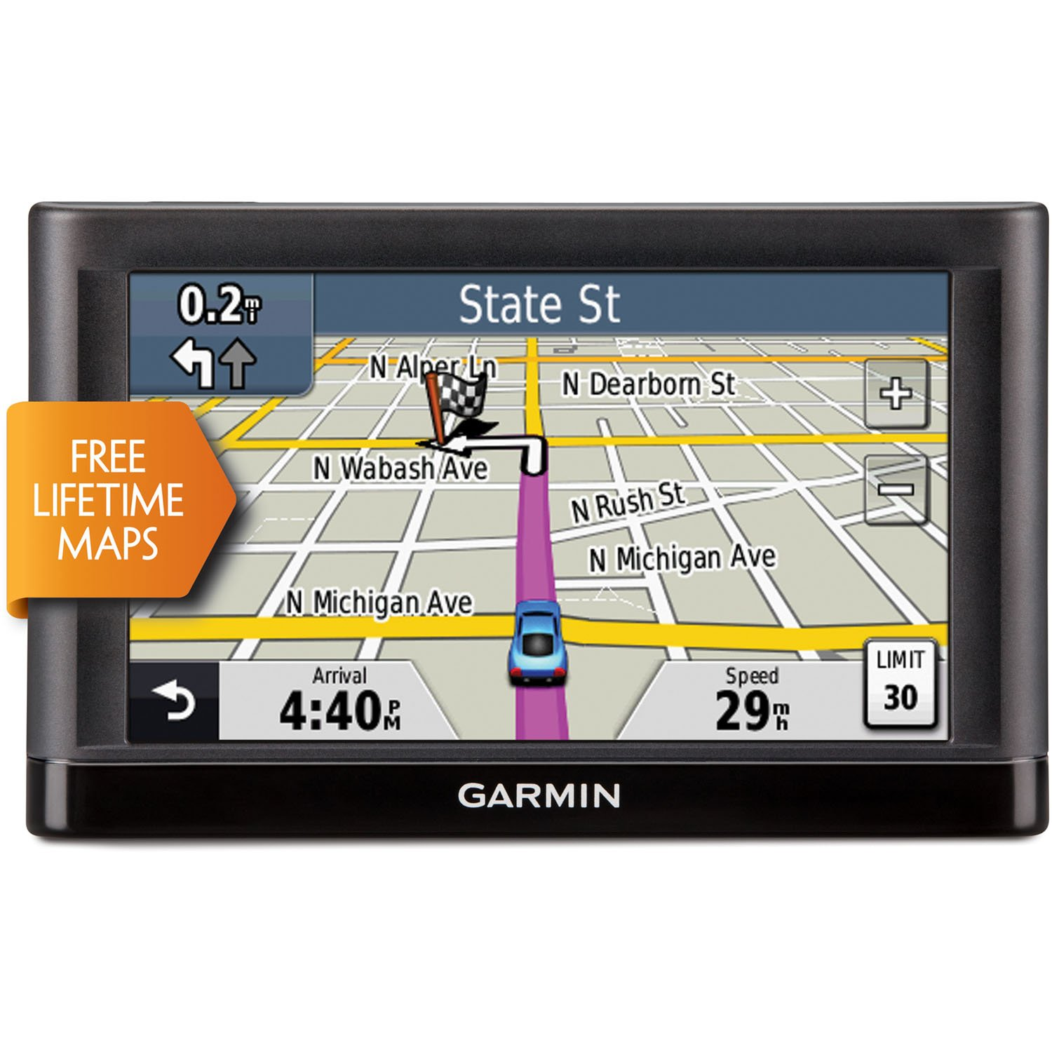 Garmin nuvi 54LM 5Inch Portable Vehicle GPS with Lifetime Maps