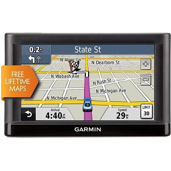 Amazoncom Garmin Nuvi 54lm 5 Inch Portable Vehicle Gps With - Garmin-gps-with-us-and-canada-maps