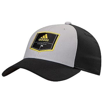 46aff59d0 Amazon.com: adidas Golf Patch Trucker Hat: Clothing
