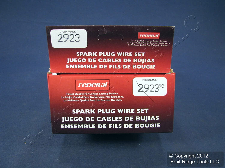 Amazon.com: Tru-Tech by Standard 2923 Custom Tailored Wire Set: Automotive