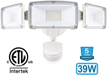 Amico LED luces de seguridad movimiento al aire libre, movimiento ...