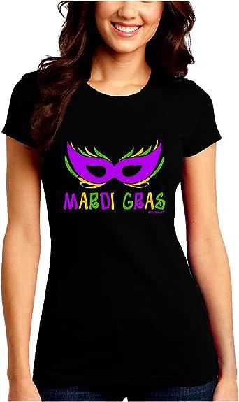 Purple Gold Green Mask Toddler T-Shirt TooLoud Mardi Gras