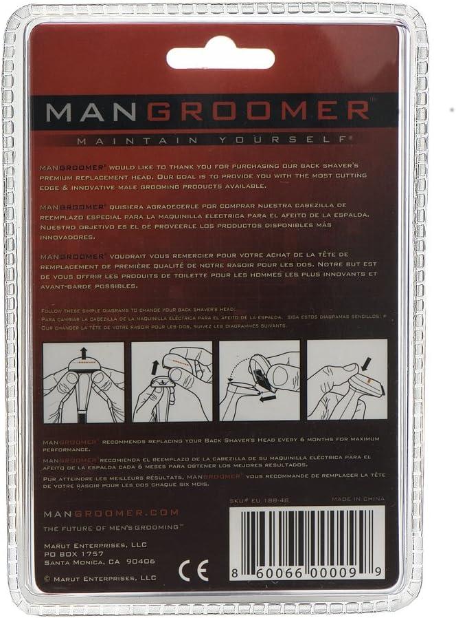 Mangroomer - Cuchilla de recambio para cuchilla de afeitar para la ...