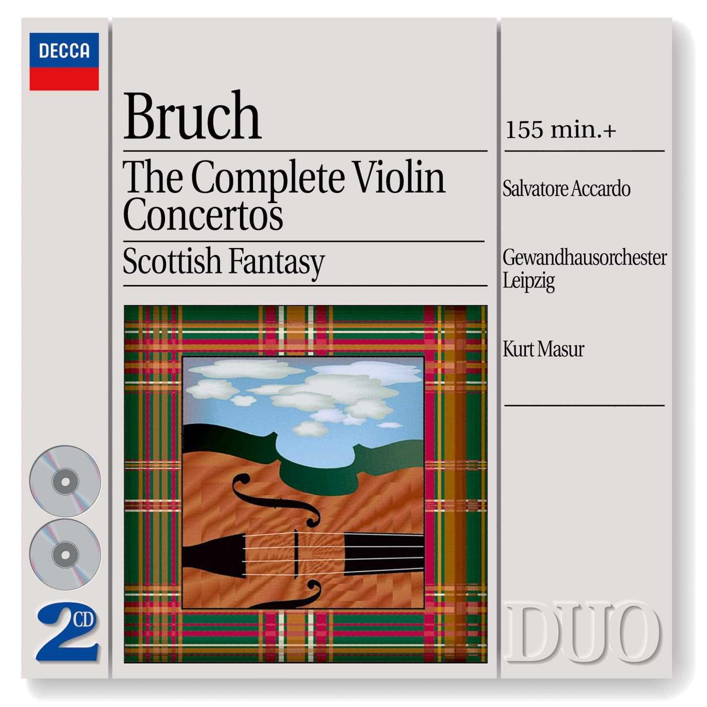 Bruch: Complete Violin Concertos / Scottish Fantasy by DUO,DECCA,ROMANTICO,