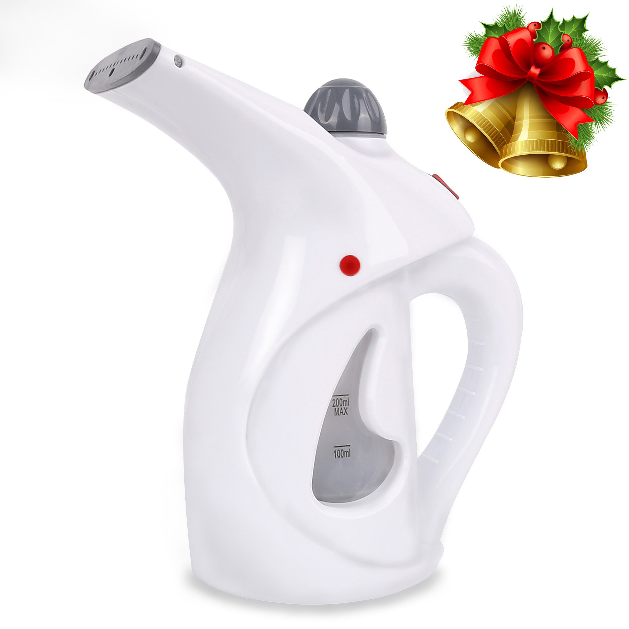 VANDORA Garment Steamer –Portable Multi-function Fabric Steamer - Handheld Powerful Steamer Perfect For Home and Travel (White)