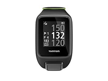 Tomtom Golfer 2 Special Edition GPS Watch- Reloj de Golf, Negro (Black/Green), L: Amazon.es: Electrónica