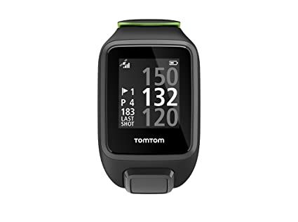 Tomtom Golfer 2 Special Edition GPS Watch- Reloj de Golf, Negro (Black/