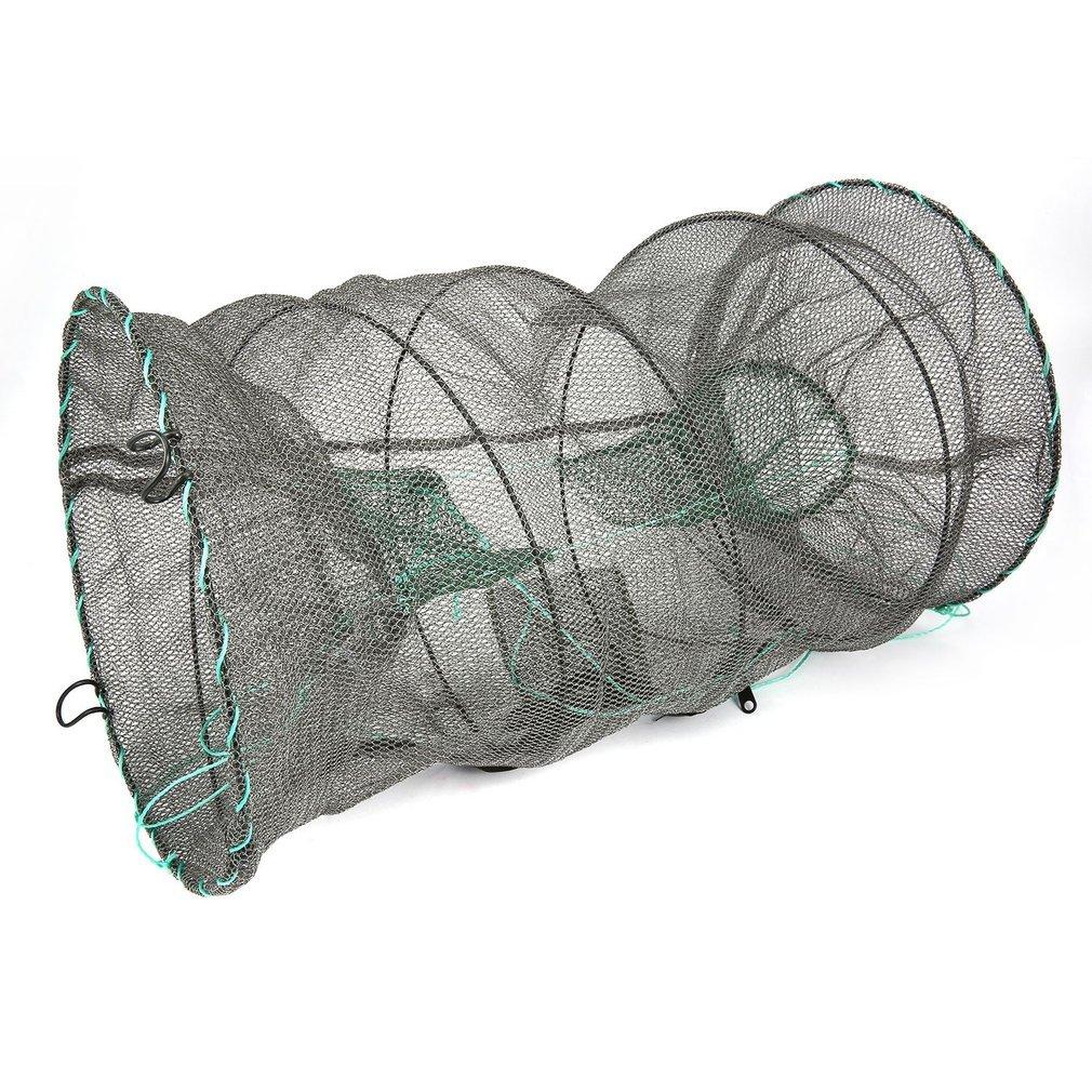 Ulable Crab Écrevisse Homard Catcher Pot Piège à poisson Net anguille crevettes crevettes vivier