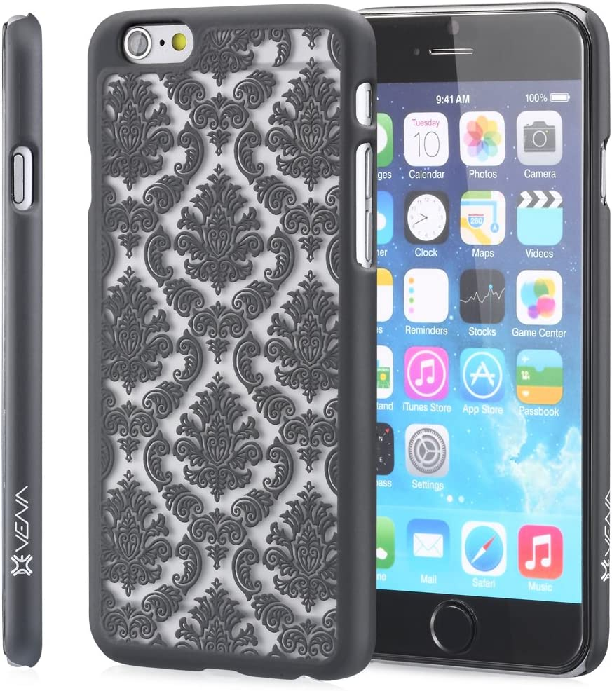 iPhone 6/6s Case - VENA [TACT] Slim Fit Hard Damask Design Pattern Cover for Apple iPhone 6/6s (4.7
