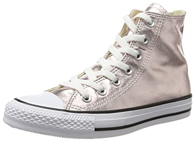 bea24127e87e Converse Unisex Chuck Taylor All Star Hi-top Sneakers Pink (Rose Quartz White Black)  6 UK  Buy Online at Low Prices in India - Amazon.in