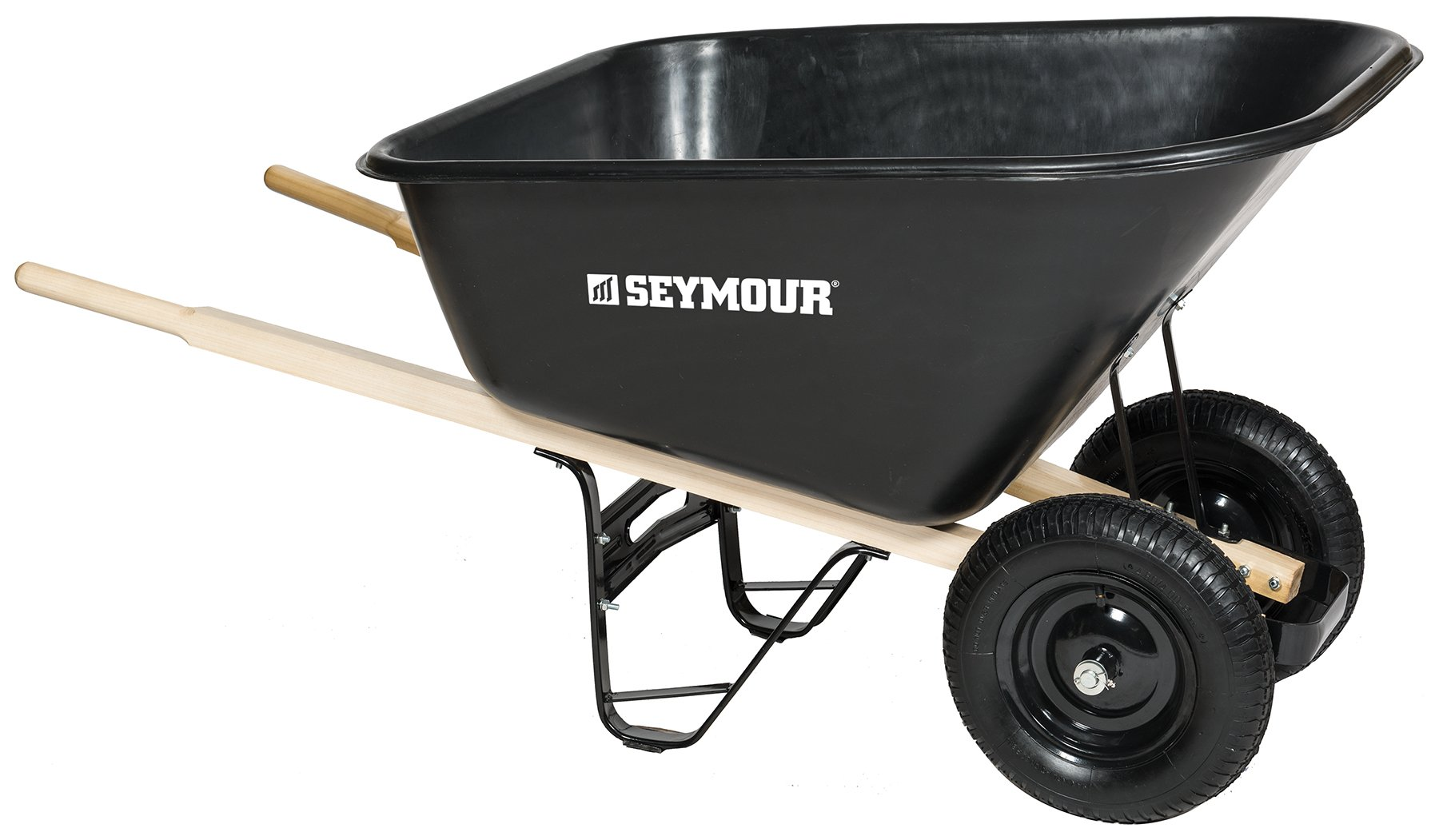 Seymour 85765 Wheelbarrow, 60 x 35.25 x 19.5''
