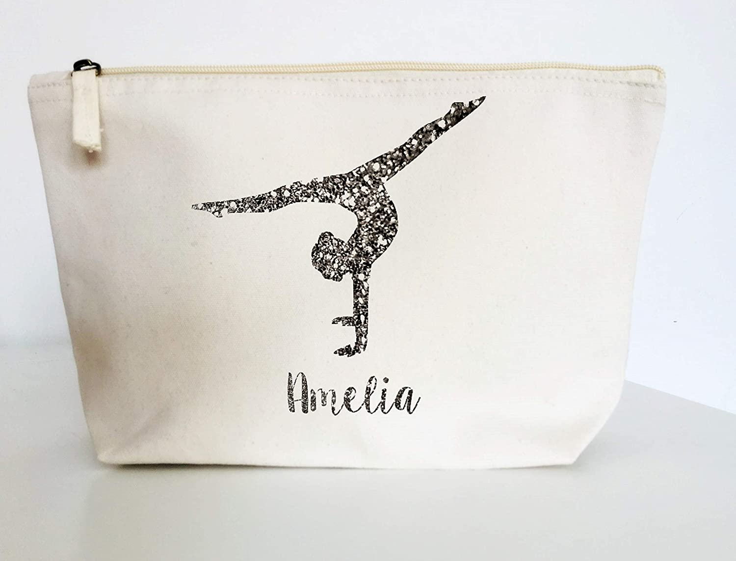 Gift Natural Cotton Shoulder Bag Awesome Ice Skater