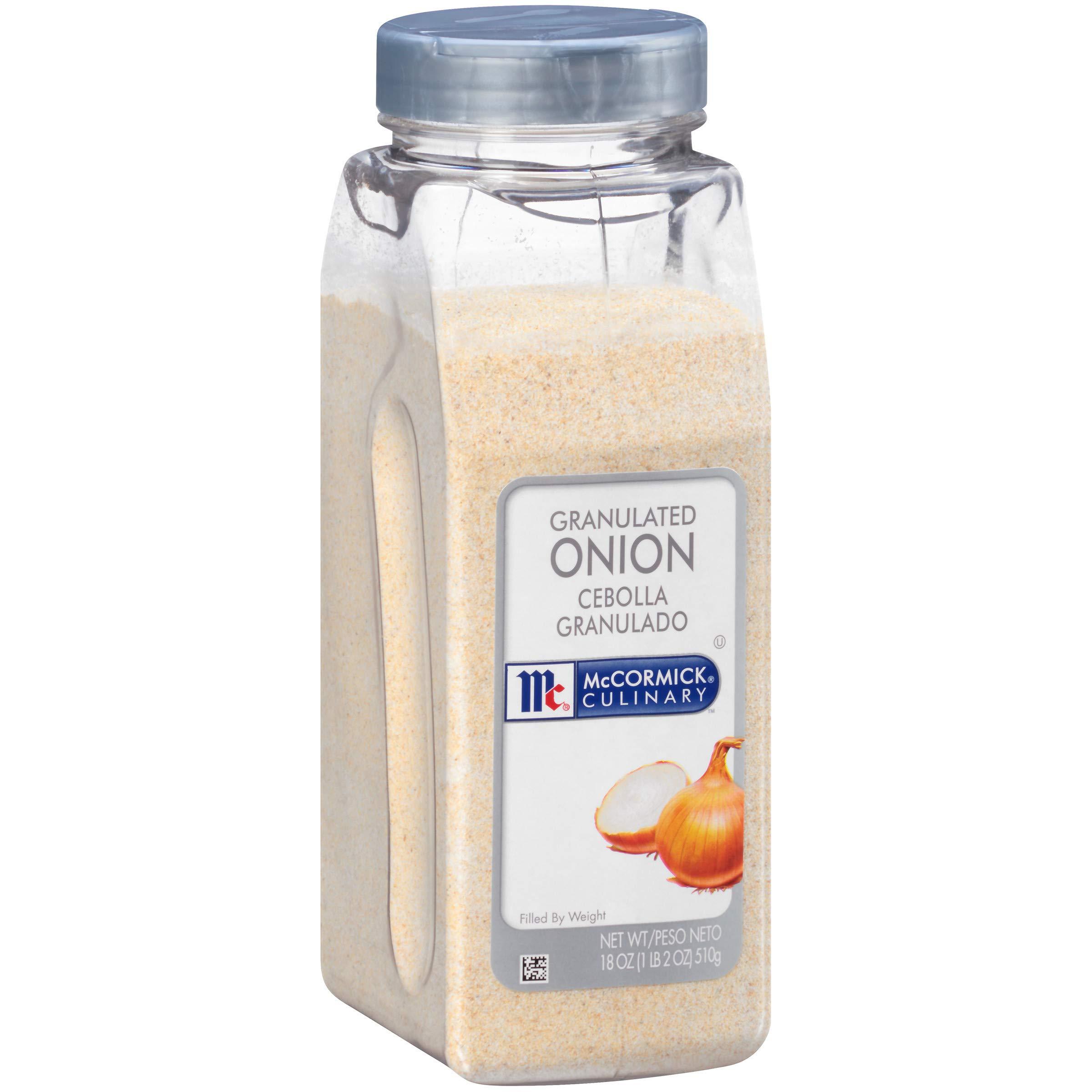 McCormick Culinary Granulated Onion, 18 oz