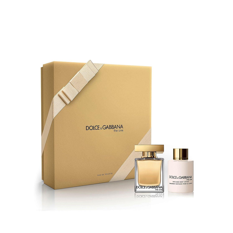Dolce & Gabbana the One Set Composta da Eau de Toilette 50 ml e Crema Corpo 100 ml per Donna 3423473035480
