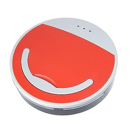 Vinteky - Robot aspirador 7.2V 1300mAh (Rojo)