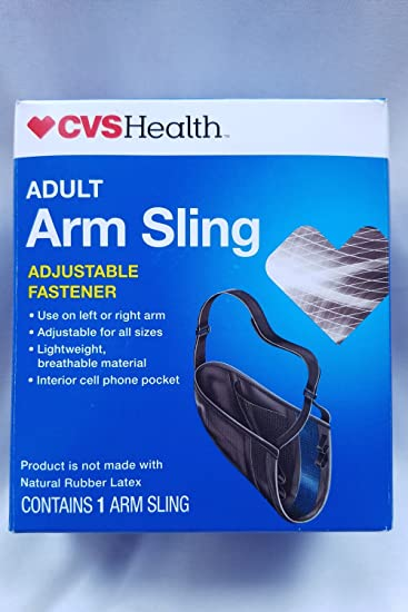 Amazoncom Cvs Arm Sling Adult With Adjustable Fastener Helps