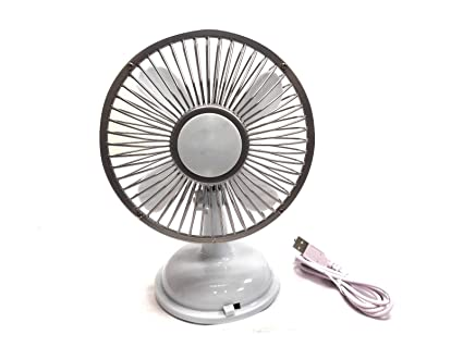 Light Blue Home or Office Compact Portable Mini Table #UH01 USB Fan for Travel