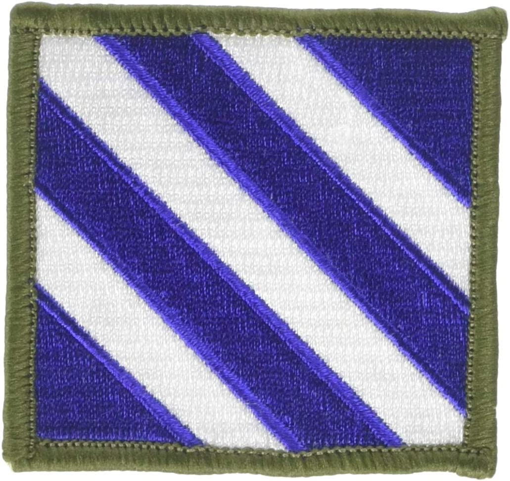 """US ARMY Div - Decorative Patches 003RD Inf 3/"""" Embroidered Iron On Patch"""