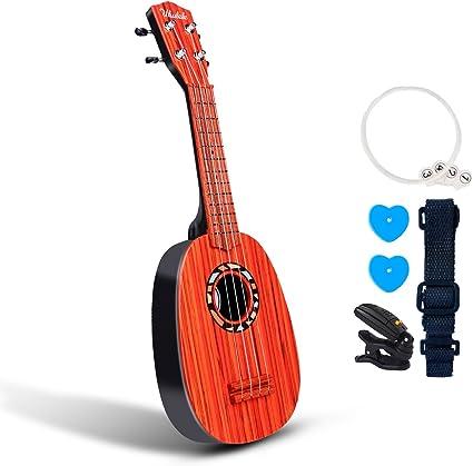 Juguete para ukelele de guitarra de 53 cm para niños con alas de ...