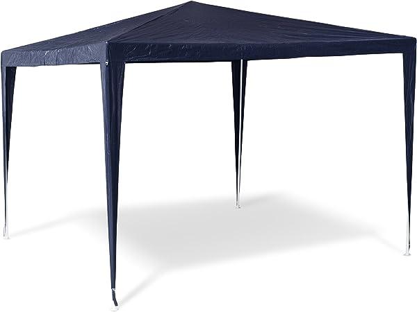 Wasserabweisende Dachplane Pavillon 3x3m Blau  PE Dachbespannung
