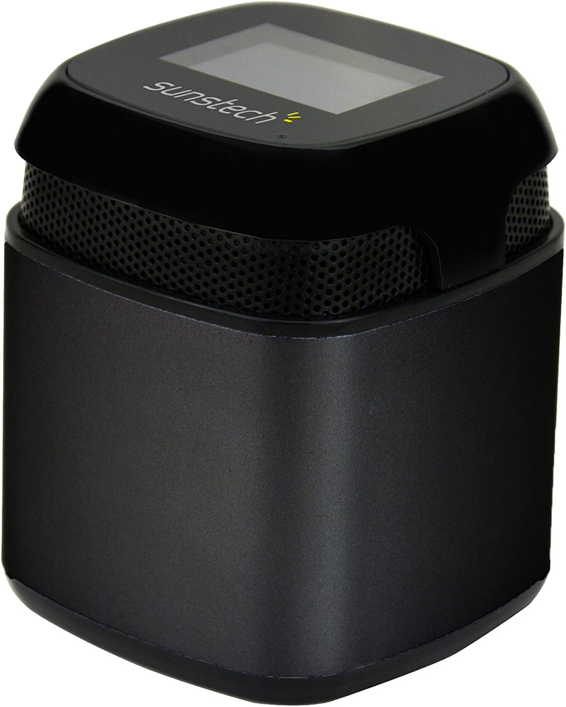Sunstech SPUBT710BK - Altavoz con Bluetooth (micrófono, FM, SD, USB, AUX-In, 3 W RMS) color negro