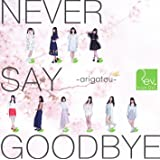 NEVER SAY GOODBYE ~arigatou~(Type-A)(DVD付)