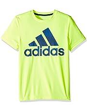 d75ea6d46fa624 adidas Boys  Short Sleeve Logo Tee Shirt