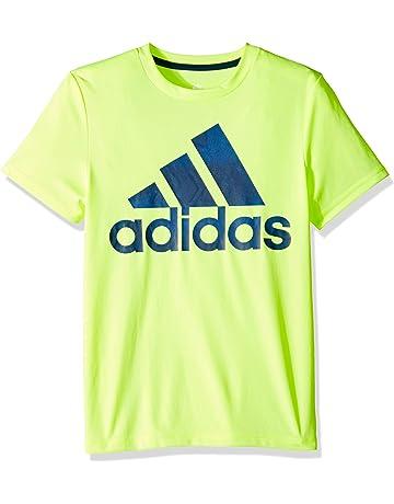 afaaed3b781f adidas Boys  Short Sleeve Logo Tee Shirt