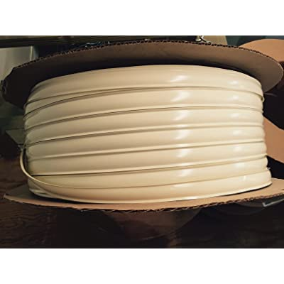 "Autmotive Authority Colonial White Vinyl 1\"" Insert Molding Trim Screw Cover RV Camper Travel Trailer (Colonial White (Tanish Beige), 35 ft): Automotive [5Bkhe1006897]"
