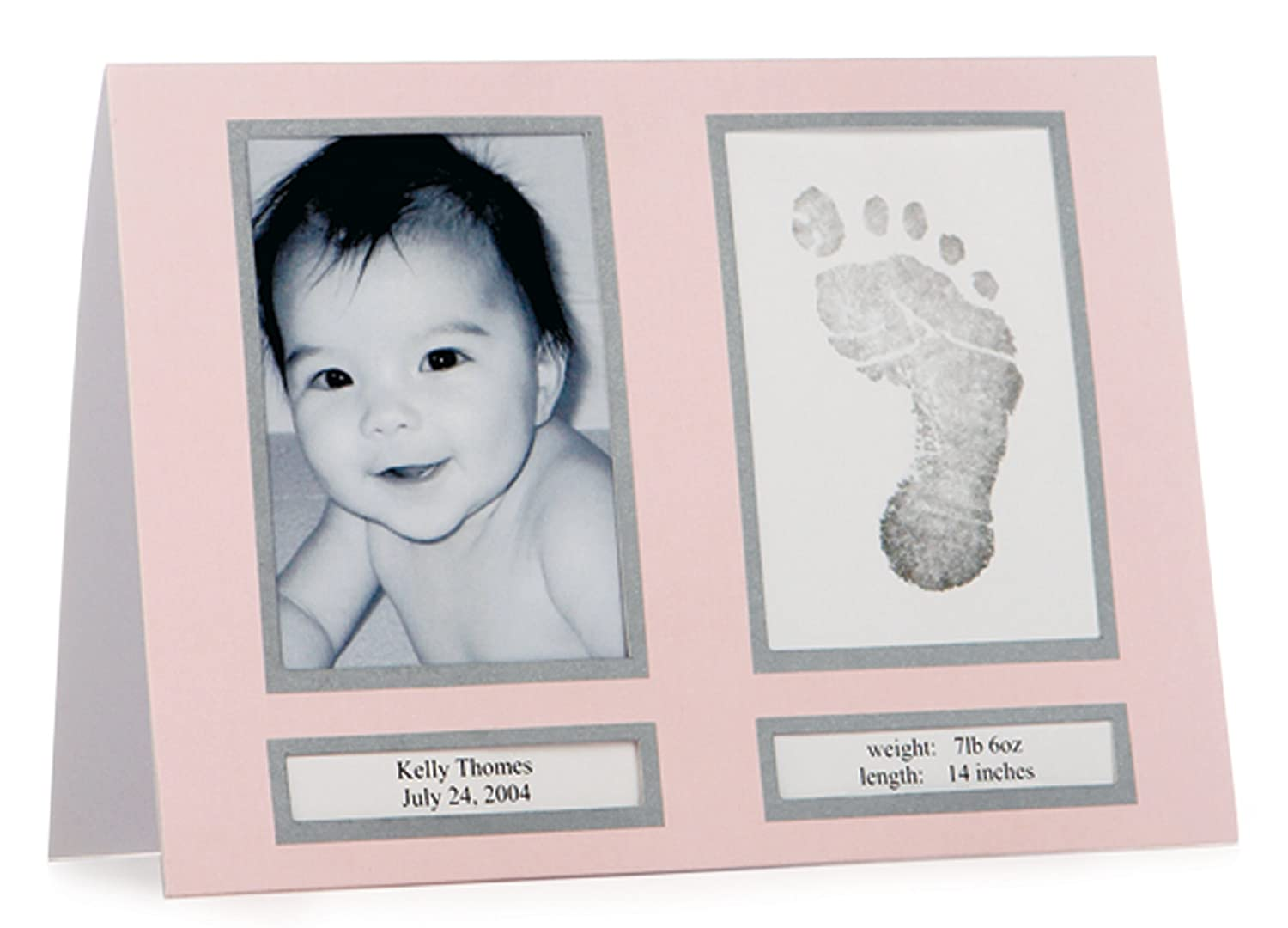 Pearhead Birth Announcements, Pink 60020