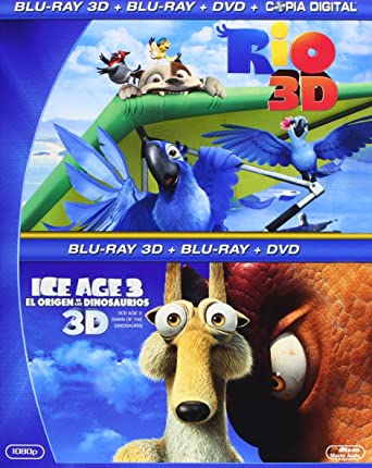 Pack: Rio + Ice Age 3