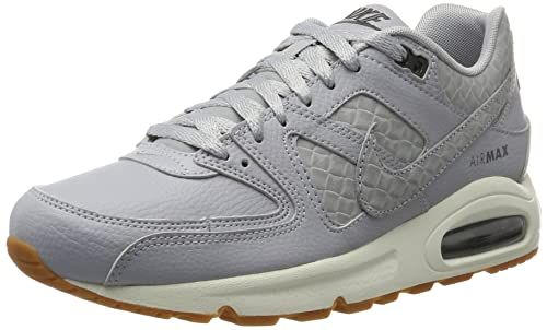 online store 2e4db 64530 Nike Air Max Command Prm, Scarpe da Ginnastica Basse Donna, Grigio (Wolf  Grey