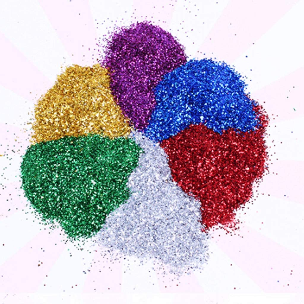 WAOving Epoxy Pigment Glitter Powder Shiny Resin Filler Sequin DIY Jewelry Crafts Making