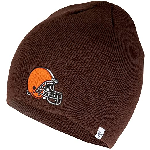 Image Unavailable. Image not available for. Color  NFL Cleveland Browns  Men s Beanie Knit Cap ... 5929f574c
