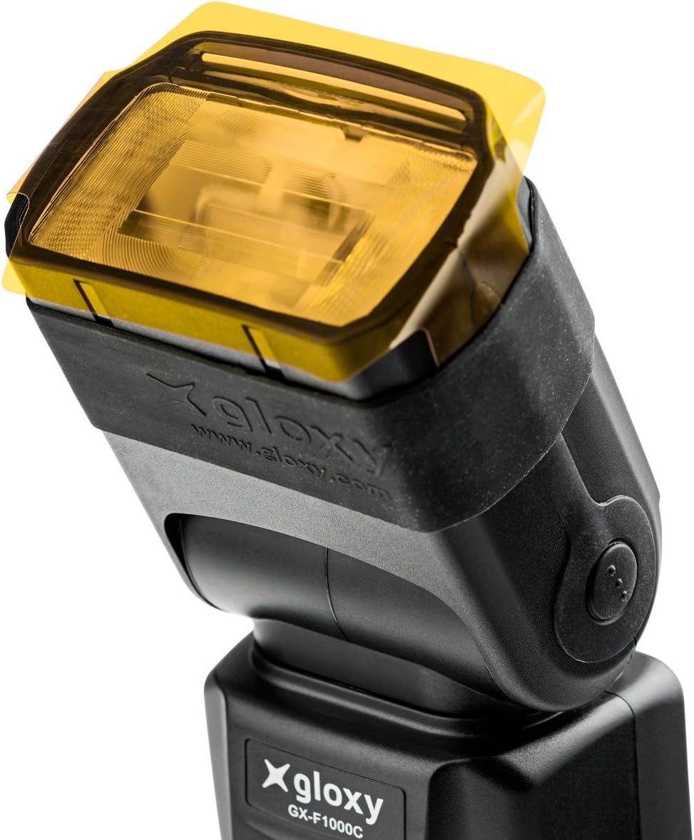 Gloxy GX-F1000 HSS Auto FP 1/8000s i-TTL Flash Para Nikon D3400 ...