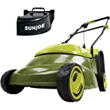 Sun Joe MJ401E-PRO Electric Lawn Mower w/Collapsible Handle, 3-Position Height Control, 10.6-Gallon Bag and Side Discharge Ch