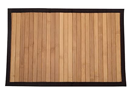 BAMBOO GREENS Bamboo Placemats (30x45cm, Multicolour) - Pack of 6