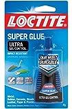 Henkel-Loctite 1363589 10 Pack 4 Gram Super Glue Ultra Gel Control, Clear