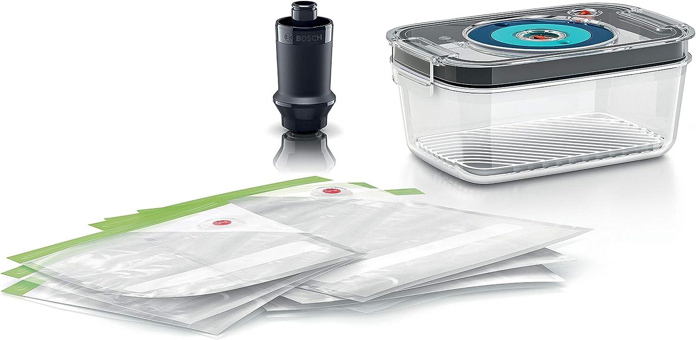 Bosch Hausgeräte MSZV8FS1 Bosch Vacuum Food Storage Set for MaxxoMix, Plastic