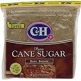 C&H Pure Cane, Granulated Dark Brown Sugar, 2 lb